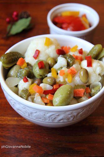 Insalata di rinforzo, sul mio blog, la cuoca eclettica, la ricetta