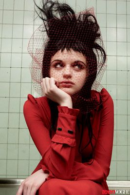 The Stars of the 2013 Young Hollywood Portfolio Tackle Horror's Most Iconic Roles: Joey King as The Goth Girl