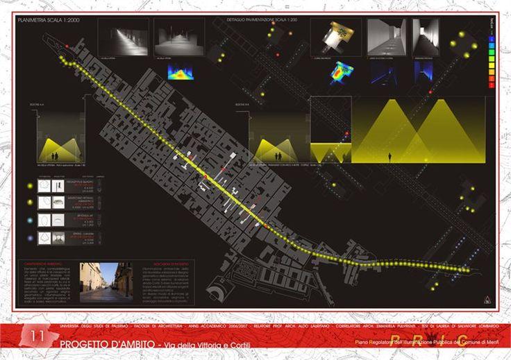 Piano Regolatore dell'illuminazione pubblica del  Comune di Menfi