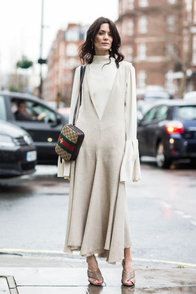 One of my favorite style muses does it again | Street look à la Fashion Week automne-hiver 2016-2017 de Londres