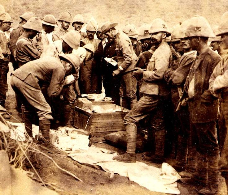 Boer War Souvenir Tins