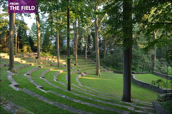 How Did You Discover Landscape Architecture? | The Field | Scott Outdoor Amphitheater, Swarthmore College | image: Simon via Flickr