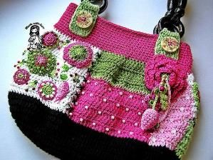 crochet purse by Esther67