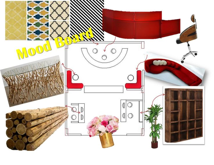 Mood Board - Corporate Office