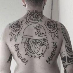 E as agulhas não param aqui na Almirante… #Tattoo #fechamento de #costas, mandada neste fimdi. #Desenho e execução do #tatuador Rafael Cruz. Primeira de três sessões. War is Hell!  ALMIRANTE TATTOO (21) 2292-9338 almirantetattoo@gmail.com Av. Almirante Barroso, 63, sala 2612. CENTRO RIO DE JANEIRO - RJ  - instagram.com/almirantetattoo - facebook.com/almirantetattoo - almiranterattoo.tumblr.com   (em Almirante Tattoo Studio)