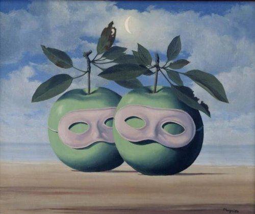 Apples Magritte