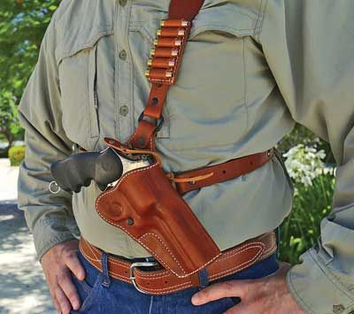 holster leather diamond holsters gun choice guide shoulder pistol guides hunting knife ammo chest rig carry revolvers rigs gear guns