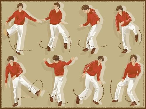 and you'll make me smile by really getting into the swing  Kings of Convenience Dance