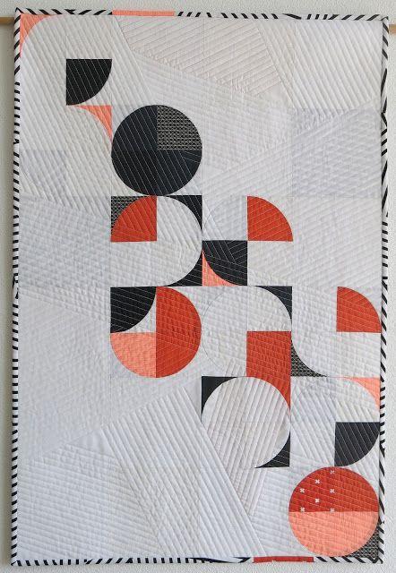 Luna Lovequilts - Orange Pop - Designed for France Patchwork magazine