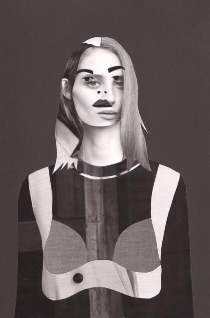 Fashion collage #roelivanvliet #prada