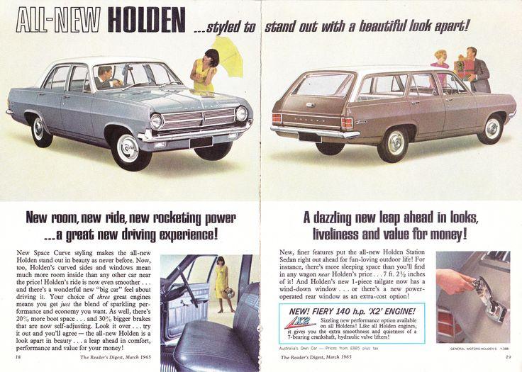 https://flic.kr/p/KPaPcW | 1965 HD Holden Special Sedan & Station Sedan 2 Page Aussie Original Magazine Advertisement