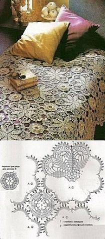 Colchas, fundas, almohadas - también crochet en Stylowi.pl