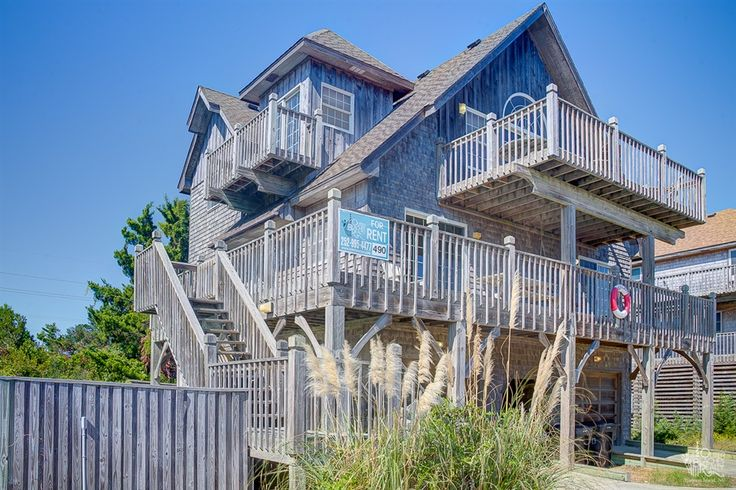 Sea Lady #490 is a 4 bedroom, 2 full / 1 half bathroom Semi Oceanfront vacation rental in Avon, NC. See photos, amenities, rates, availability and more details to book today!
