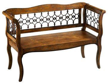 Cyan Design Jordan Bench - Transitional - Benches - Chachkies