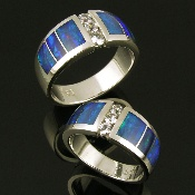 These are the wedding bands my husband and I have. He picked them out.
