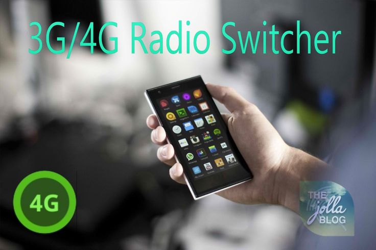 Enable LTE Connectivity on your Jolla Phone with 3G/4G Radio Switcher #Jolla #SailfishOS