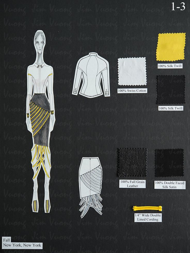 FIT(Fashion Institute of Technology) Spring 2013 Portfolio | Jim Vuong