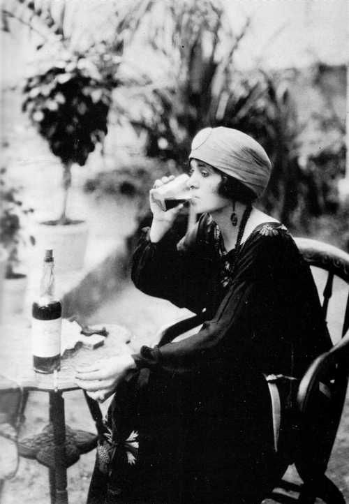 Gertrude 'Cleo' Lythgoe, also known as the Bahama Queen or the Queen of Rum Row. She was the only woman to hold a wholesale liquor license in Nassau, Bahamas during the prohibition era and went on exploits alongside notorious rum-runners such as Bill McCoy. She used her charm and businesssavvywit to send shipload after shipload of the finest whiskey to America while never breaking the law.