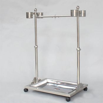 stainless steel large parrot cage for sale