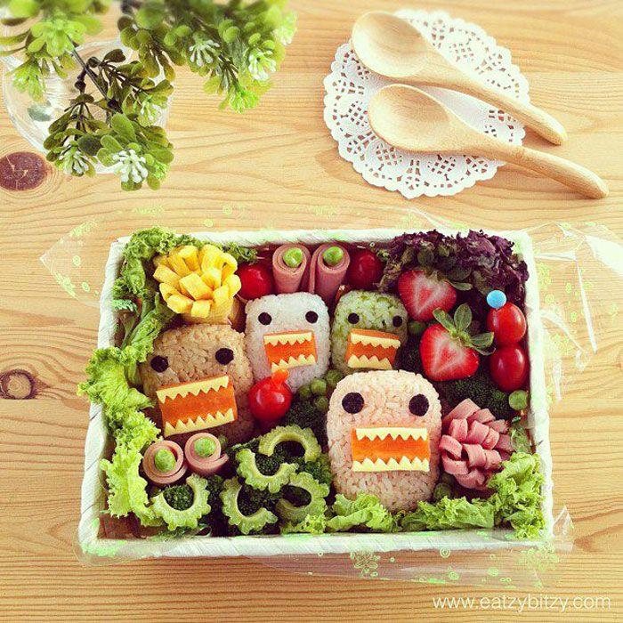Domo food art by Lee Samantha
