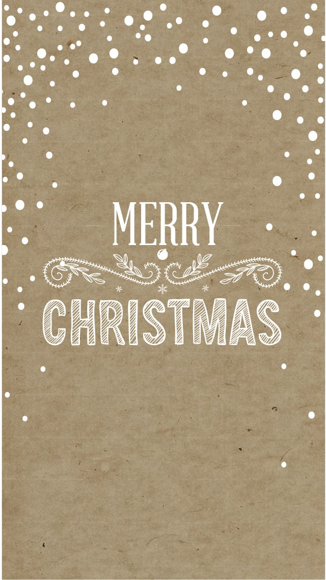 snow Free Christmas iPhone Wallpapers