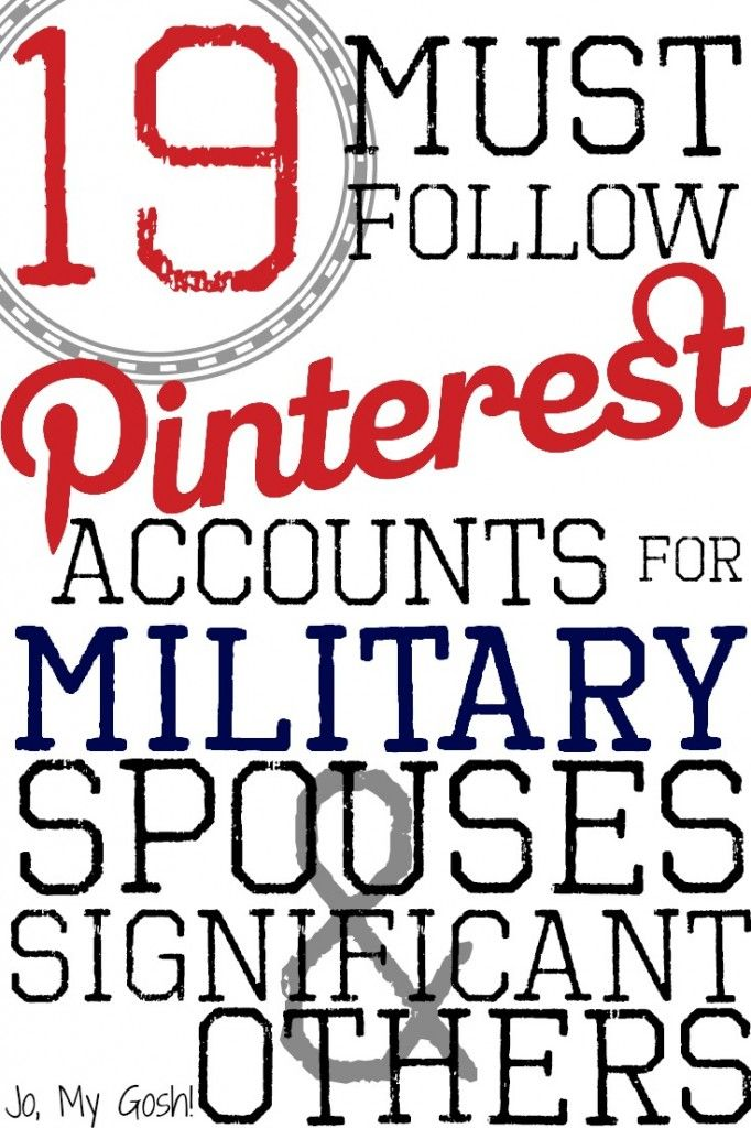 Pinterest resources for #milsos and #milspouses! Definitely following these accounts! (oh, look #NavyHousing is listed here!)