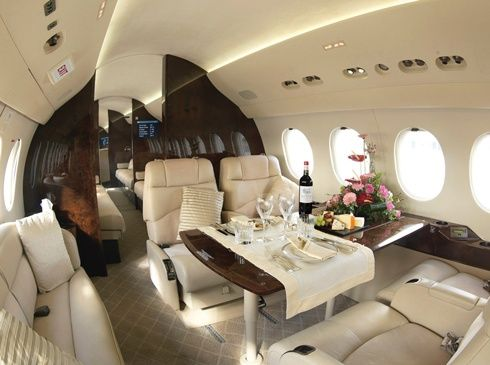 Private charterd jets