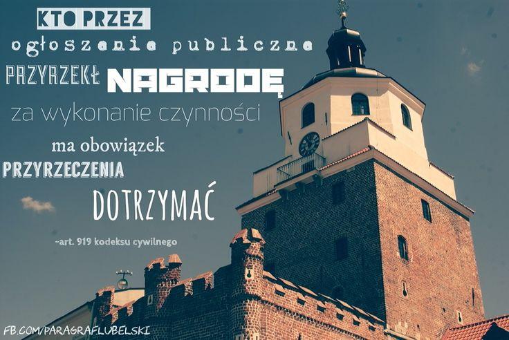 Przyrzeczenie publiczne w prawie cywilnym http://adwokat-sarzynski.pl adwokaci tarnobrzeg