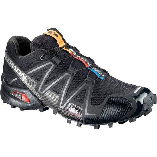 Ideal for off-road outdoor adventure racing, the men's Salomon Speedcross 3  trail-running shoes.