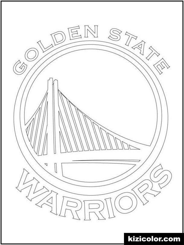 Golden State Warriors Coloring Pages Dÿz Nba Malvorlagen Kizi Coloring Pages In 2020 Golden State Warriors Golden State Warriors Colors Free Printable Coloring Pages