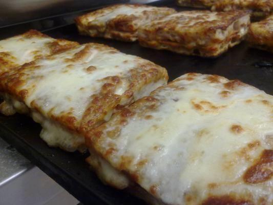 Pizza: i crostoni della nonna