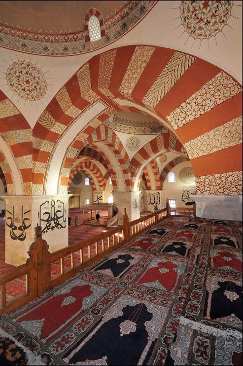 The Old Mosque of Edirne - Edirne, Edirne - http://en.wikipedia.org/wiki/Old_Mosque