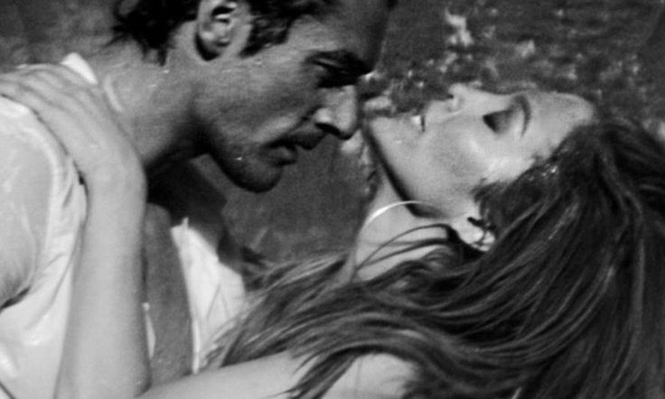 J-Lo in steamy love scene with D&G model David Gandy for First Love video  which will be released on June 17th