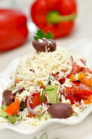 Шопский салат - Sopska Salad