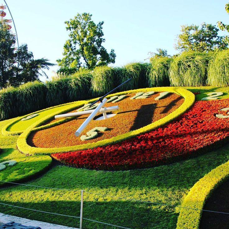 """33 mentions J'aime, 1 commentaires - 🎀Blogueira🎀 (@lena__gomes) sur Instagram: """"Um bom sábado para todos com esta linda imagem do relógio num jardim em Genève! #likeforlike #liker…"""""""