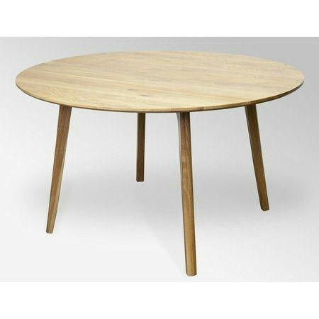 Life interiors round oak 110cm