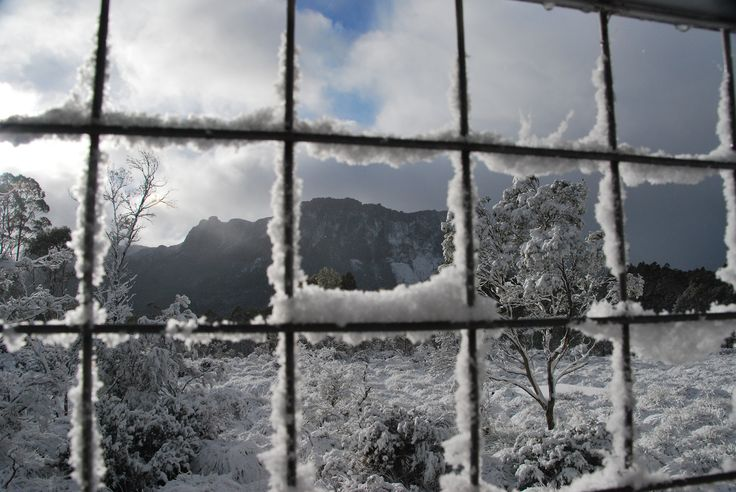 First winter departure with Cradle Mountain Huts