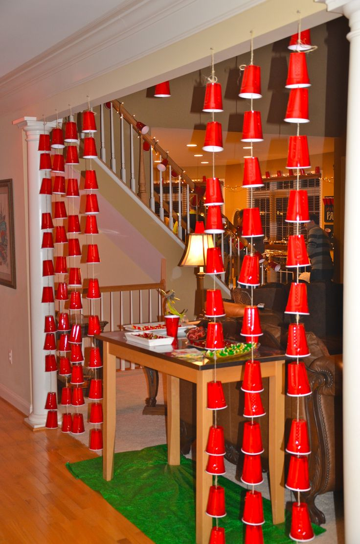 The Red Solo Cup Shindig . . . so much fun: 90+ friends, 740 jello shots, 2 kegs; 9 liters of vodka; 50+ Hostess Twinkies; 150 lbs. of food; 615 #redSolocups and WAY too many thoughtful hostess gifts (#thankyou). @tobykeithmusic