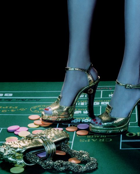 Photographed by Miles Aldridge for The Newyork Times Magazine 2004.#3