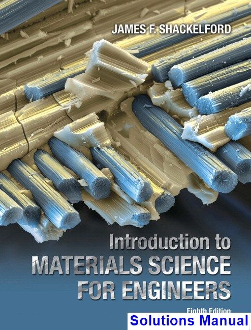 Solutions Manual For Introduction To Materials Science For