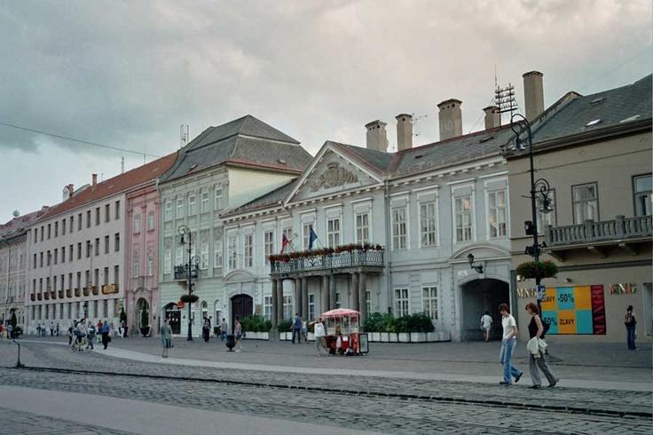 Kosice, Slovakia,  (Mesto), downtown.