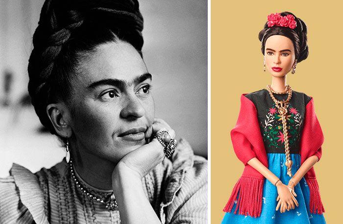 Barbie Unveils 17 New Dolls Based On Inspiring Women Like Frida Kahlo And Chloe Kim, And We Want Them All