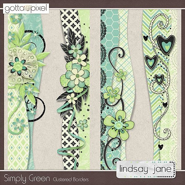$2.00 Simply Green Borders