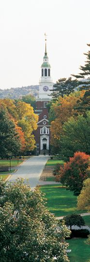 Dartmouth College in Hanover, New Hampshire - I grew up right near here