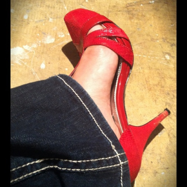 Red X Shoes