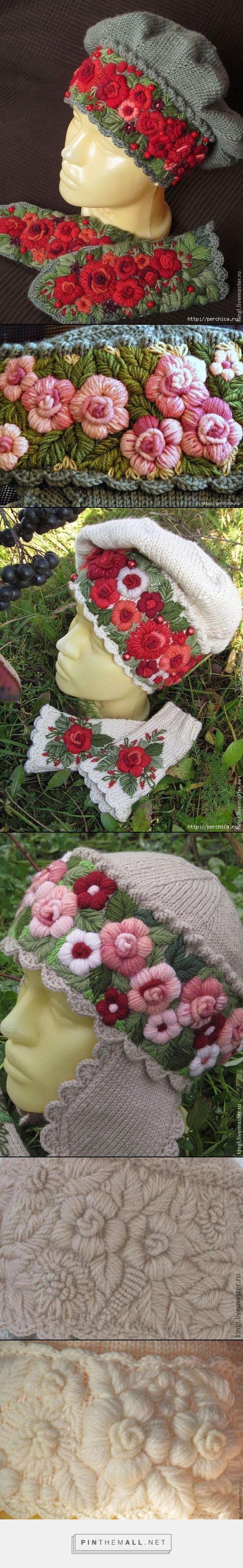 Beautiful embroidered knitting ~~ http://www.liveinternet.ru/users/3344739/post317465962/