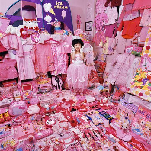Pink & Blue Project by JeongMee Yoon.