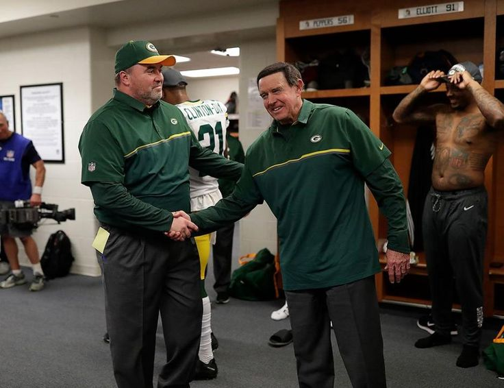 Nice job Coaches McCarthy and Dom Capers!
