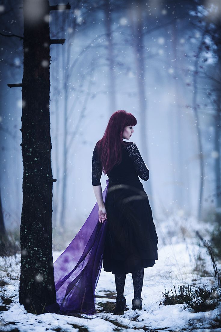 "From ""Walking with Strangers"", 2014 (c) Minna Kaita Photo #photography #mood #horror #winter #fantasy #conceptual"