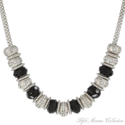 Rhodium Neckpiece - Captivating Charms - Australia - Fifth Avenue Collection - Jewellery that changes the way you see fashion